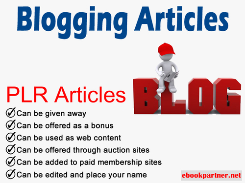 Product picture 800 over Blogging Quality PLR Articles
