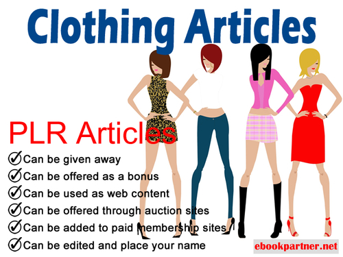 Product picture 500 over Clothing Dresses Quality PLR Articles