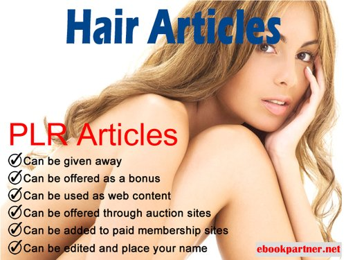 Product picture 600 over Hair Quality PLR Articles